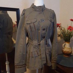 Military style jacket XL